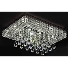 crystal chandelier flush mount gallery