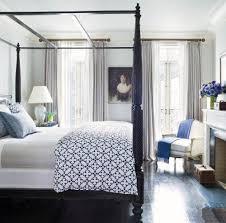 traditional master bedroom blue. Brooke-shields-blue-and-white-new-traditional-bedroom Traditional Master Bedroom Blue