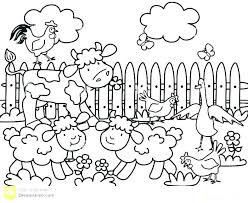 Farm Animal Coloring Sheets Free Le Farm Animal Colouring Pages