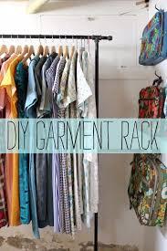 garment rack diy 15 smart ways to organize your closet