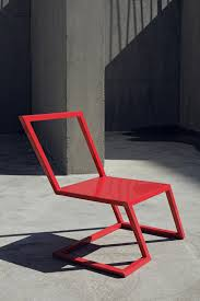 Sit On The Edge Of Your Seat With The 60 Red Chair  Design MilkContemporary Red Chair