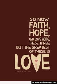 Faith Hope Love Life Quotes Collection Of Inspiring Quotes Beauteous Love Faith Hope Quotes