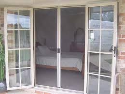 exterior doors with screens and windows. architrave mounted french doors closed screen front view in primrose. exterior with screens and windows r