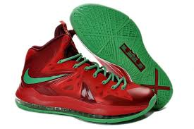 lebron shoes 2013. sale online nike lebron james 10 (x) christmas ruby red green hight quality lebron shoes 2013