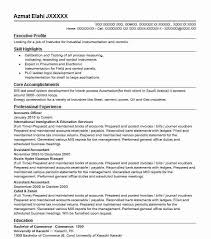 Accounting Officer Sample Resume Adorable Accounts Officer Resume Sample Officer Resumes LiveCareer