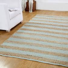 affinity linens hand woven natural blue area rug rug size 5 x 8 jute rug 5x8
