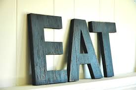 wall art ideas design eat large handmade wall art letters wood sign vintage style distressed kitchen cottage home tall wall art letters wood uk wooden