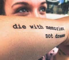 50 Stunning Inspiring Quote Tattoos To Motivate You Every Time You
