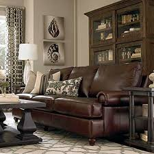 Shop Living Room Furniture Sets  Family Room  Ethan AllenLeather Chairs Living Room