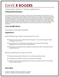 Professional Cv Template Amazing CV Example For An Unsolicited Application MyperfectCV