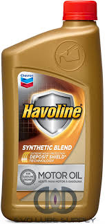 Havoline Synthetic Blend 10 30 1 Qt Bottle 223702481