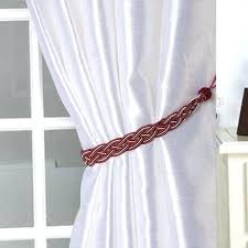 curtain holdbacks 1 pair curtain tiebacks braided rope tie backs window curtains strap accessories crystal curtain curtain holdbacks