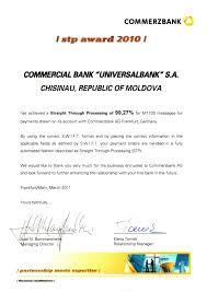 commerzbank второй раз подряд отметил Коммерческий  Данный диплом является результатом продвижения политики Банка нацеленной на создание особых традиций и подходов к работе а также на воспитание