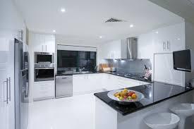 Homewedding Contemporary Kitchen Designs Modern White Woodnets