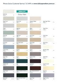 Experienced Dulux Paint Pod Colour Chart Dulux Paint Colour