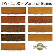 World Of Stains Color Charts Stain Colors Links To Color