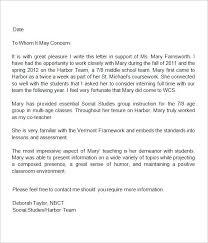 Sample Letter Of Recommendation For Daycare Provider Sample Cover Letter For Playground Supervisor Child Care Resume