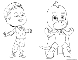 Fresh Pj Masks Coloring Pages Printable Pj Masks Coloring Pages To