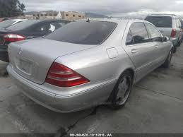 2000 mercedes benz s class is one of the successful releases of mercedes benz. 2000 Mercedes Benz S Class 500 Front End Damage Wdbng75j5ya078841 Sold