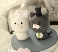 Download Wedding Cake Toppers Cats Food s Cat Wedding Cake