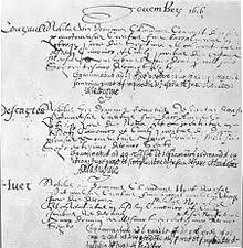 rene descartes  graduation registry for descartes at the university of poitiers 1616