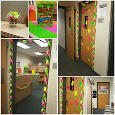 office party decorations. office birthday party decorations in neon all dollar tree items