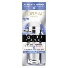 makeup remover l 39 oreal youth code dark spot correcting illuminating serum corrector