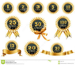 Anniversary Ribbon Anniversary Ribbons Stock Vector Illustration Of Signs 32394744