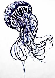 Immortal Jellyfish Tattoo Jellyfish Tattoo Design Emortal