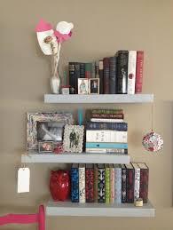 Shelves For Bedroom Walls Storage Organization Thick Wood Floating Shelves Ideas Diy