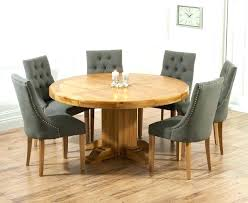 dining table 8 chairs set round table and chair set large round oak dining table 8