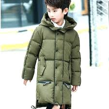 big winter coats white duck down boys outerwear warm long hooded jacket and tall mens canada