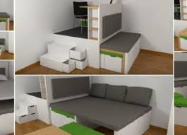 innovative space saving furniture. Swedish Innovative Space Saving Table And Bed Set Design By Matroshka Video. □Furniture Furniture