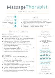 First Resume Sample Massage Therapist Resume Sample Writing Tips Resume Genius
