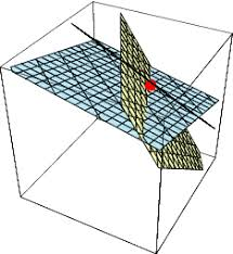 intersecting planes cube. plane-planeintersection intersecting planes cube