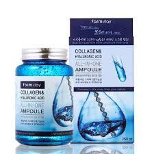 FARMSTAY <b>Collagen</b> & Hyaluronic Acid All-In-One Ampoule ...