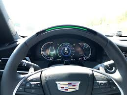 2018 cadillac that drives itself. unique 2018 the 2018 cadillac ct6 steering wheel features glowing led lights across the  top of for cadillac that drives itself r