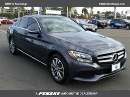 2015 Used Mercedes-Benz C-Class 4dr Sedan C 300 4MATIC at BMW of ...