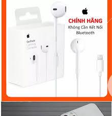 Tai nghe iphone Chính Hãng Sử Dụng Cho Iphone 7 Iphone 7 Plus Iphone 8  Iphone 8 Plus Iphone X/Xs/Xr/Xsmax Iphone 11 Series Iphone 12 Series