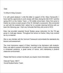 Sample Letter Of Recommendation For College Admission From Teacher 18 Best Letters Of Rec Images