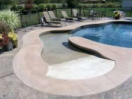 fiberglass pools with beach entry. Perfect Fiberglass Magnificent Beach Entry Fiberglass Pool  Swimming Pools On With A
