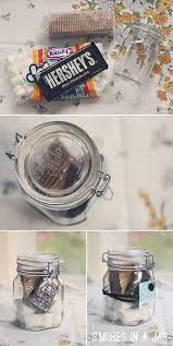 s mores in a jar the quickest gift to emble parting gifts at a bbq or to hand out at a c fire