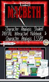 best macbeth short summary ideas shakespeare  shakespeare s macbeth character analysis digital and printable