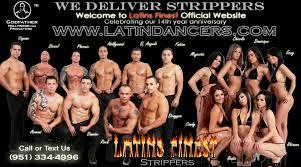Finest latins male stripper