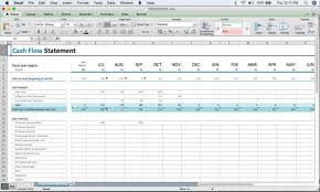 Microsoft Cash Flow A Beginners Cash Flow Forecast Microsofts Excel Template The