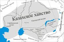 Образование казахской народности и первого казахского ханства  Комментарии