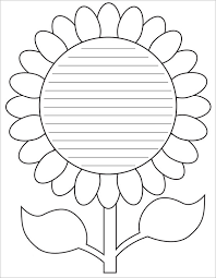 Flowers Templates Free 6 Sample Flower Templates In Pdf