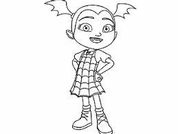 Halloween disney coloring pages fresh vampire coloring sheets. Free Printable Disney Junior Vampirina Coloring Pages For Kids
