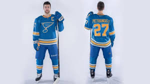 Blues Winter Classic Jersey Authentic