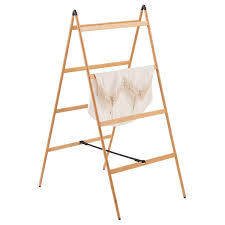 Bamboo Ladder Clothes Drying Rack ...